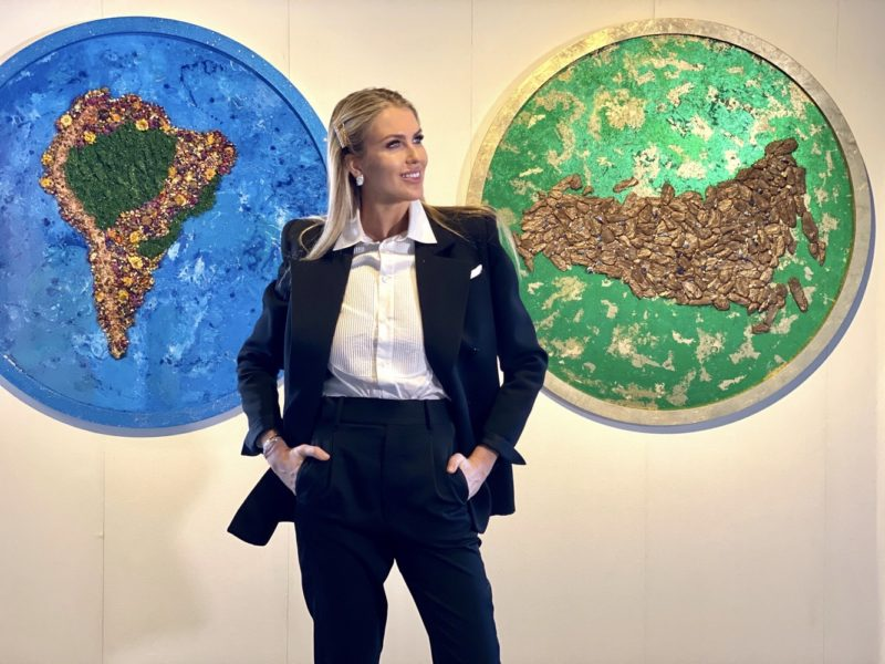 """Natalia Kapchuk """"The Lost Planet"""" art pieces are displayed in London"""